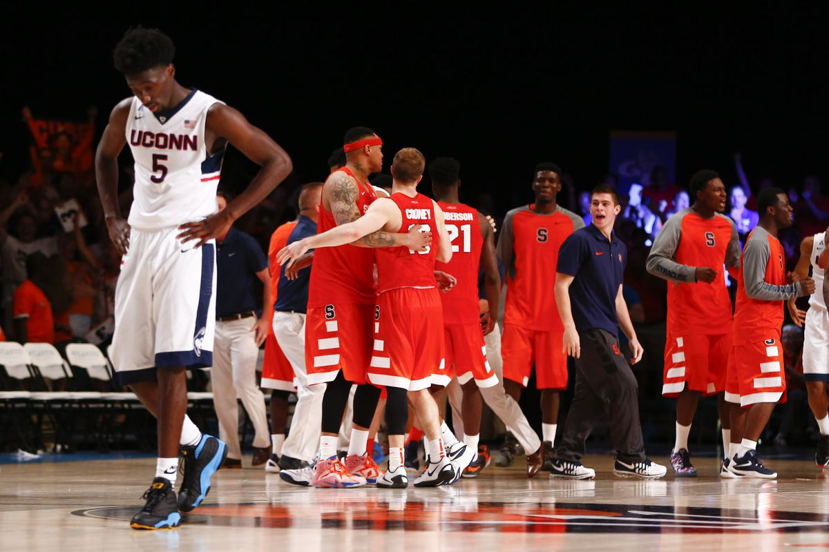 UConn did well to come back from large deficits against Syracuse and Gonzaga, but could not get the wins.