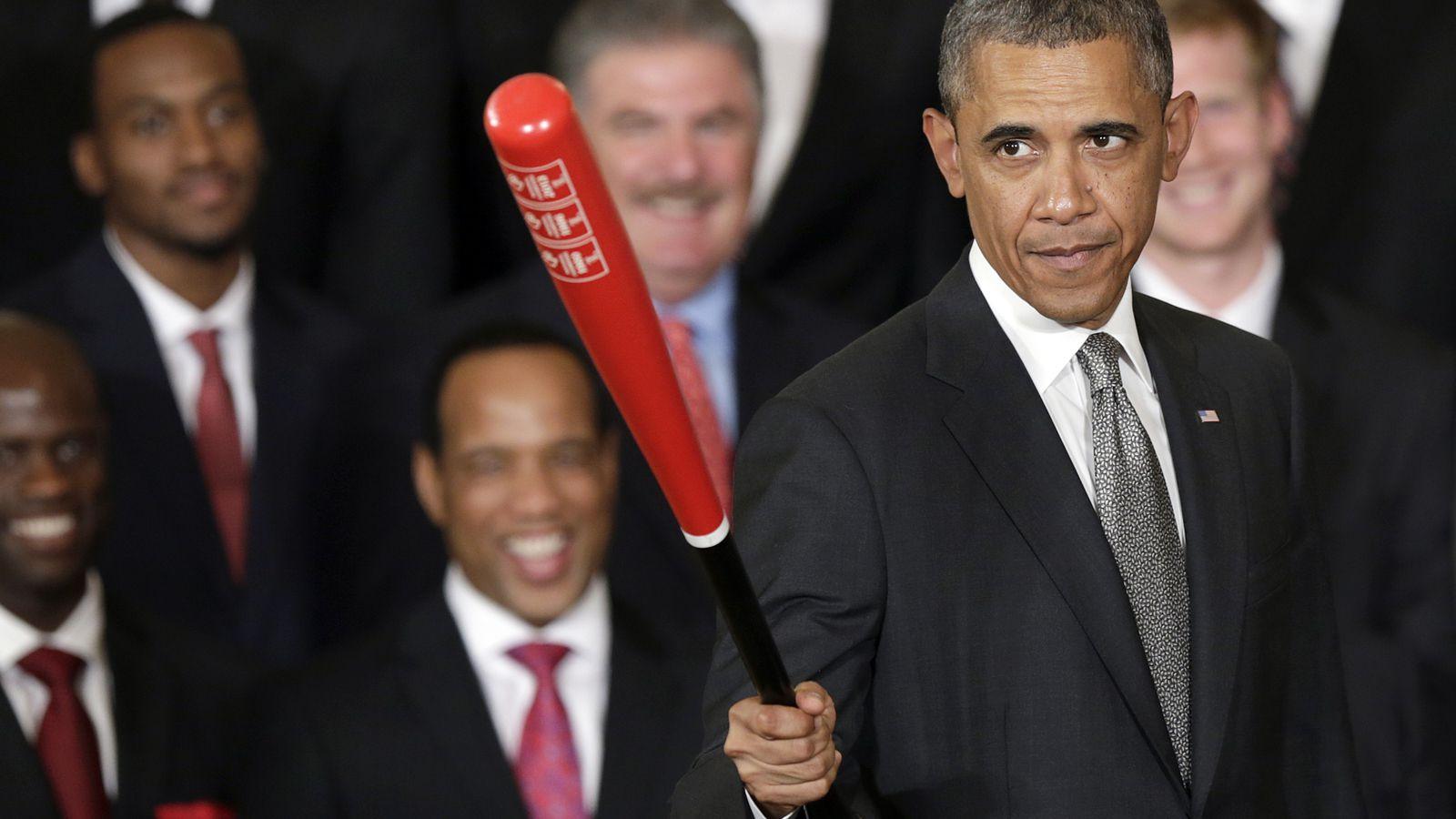 白宫必须回应美国职棒大联盟开幕日的书