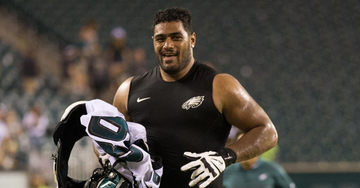 Jordan Mailata is just laughing it off