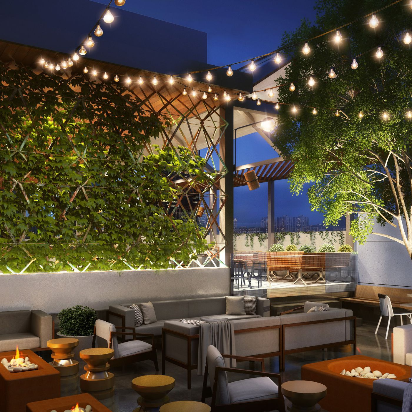 The New Earls At The Pru Will Have A Swanky Rooftop Eater