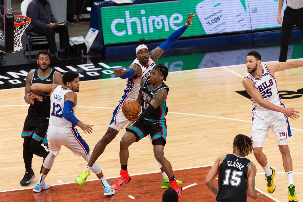 NBA: Philadelphia 76ers at Memphis Grizzlies