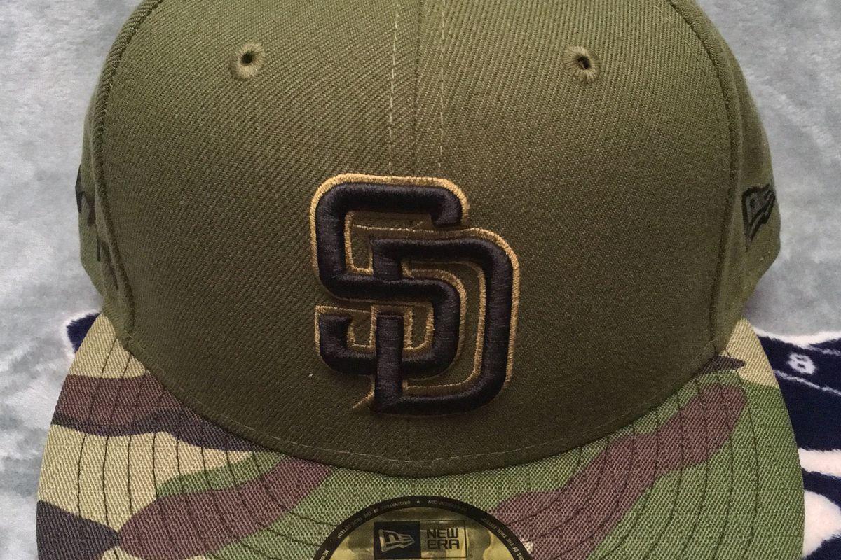 c14abd52d9a TFHS Closer Look  2017 Padres Memorial Day Hat - Gaslamp Ball