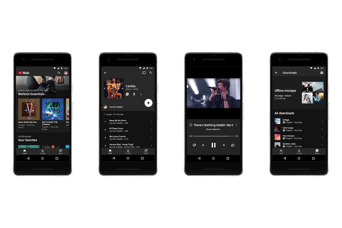 YouTube Music and YouTube Premium announced as YouTube Red ...
