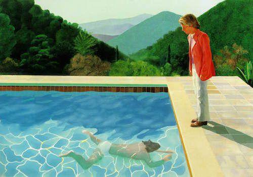 Hockney, pool & canyon
