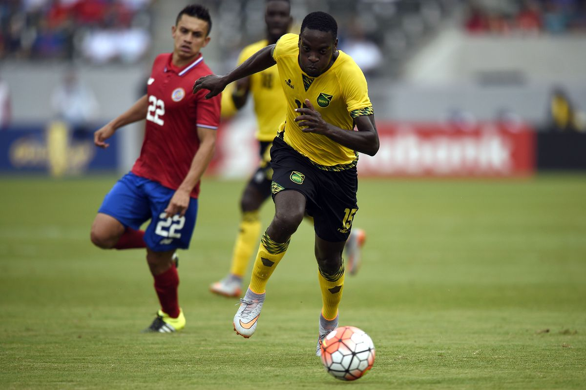 Soccer: Gold Cup-Costa Rica at Jamaica