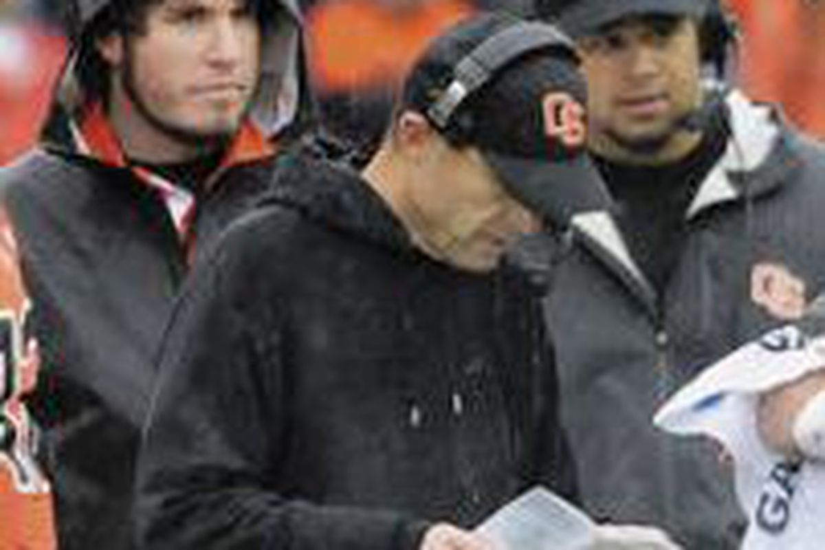 Coach Mike RIley will need to find some good plays in his game plan to get Oregon St. back on track.