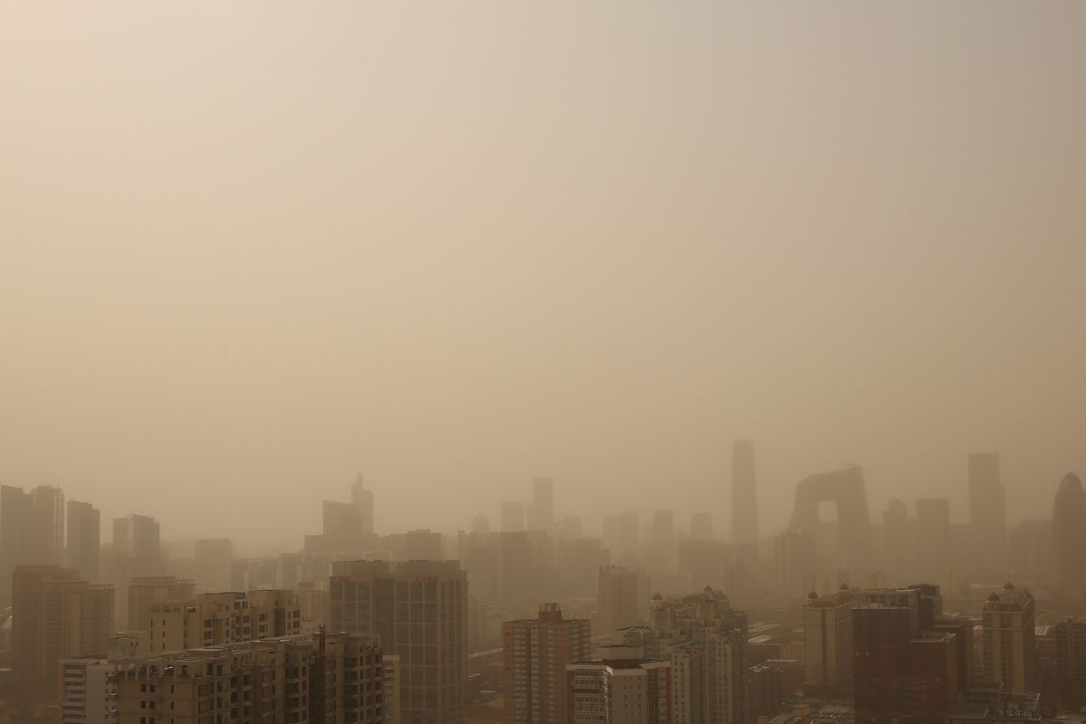 Sandstorm Hits China