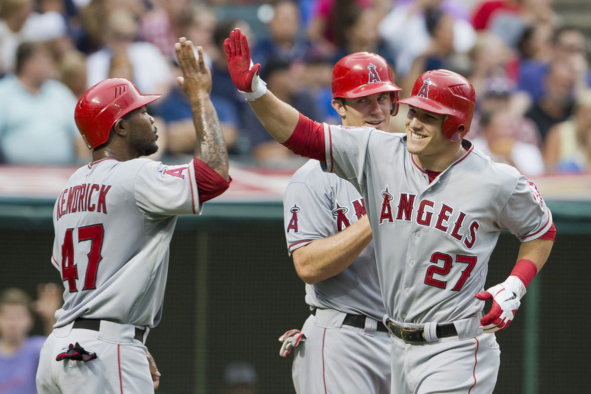 Mike Trout is our MVP, and it isn't really close.