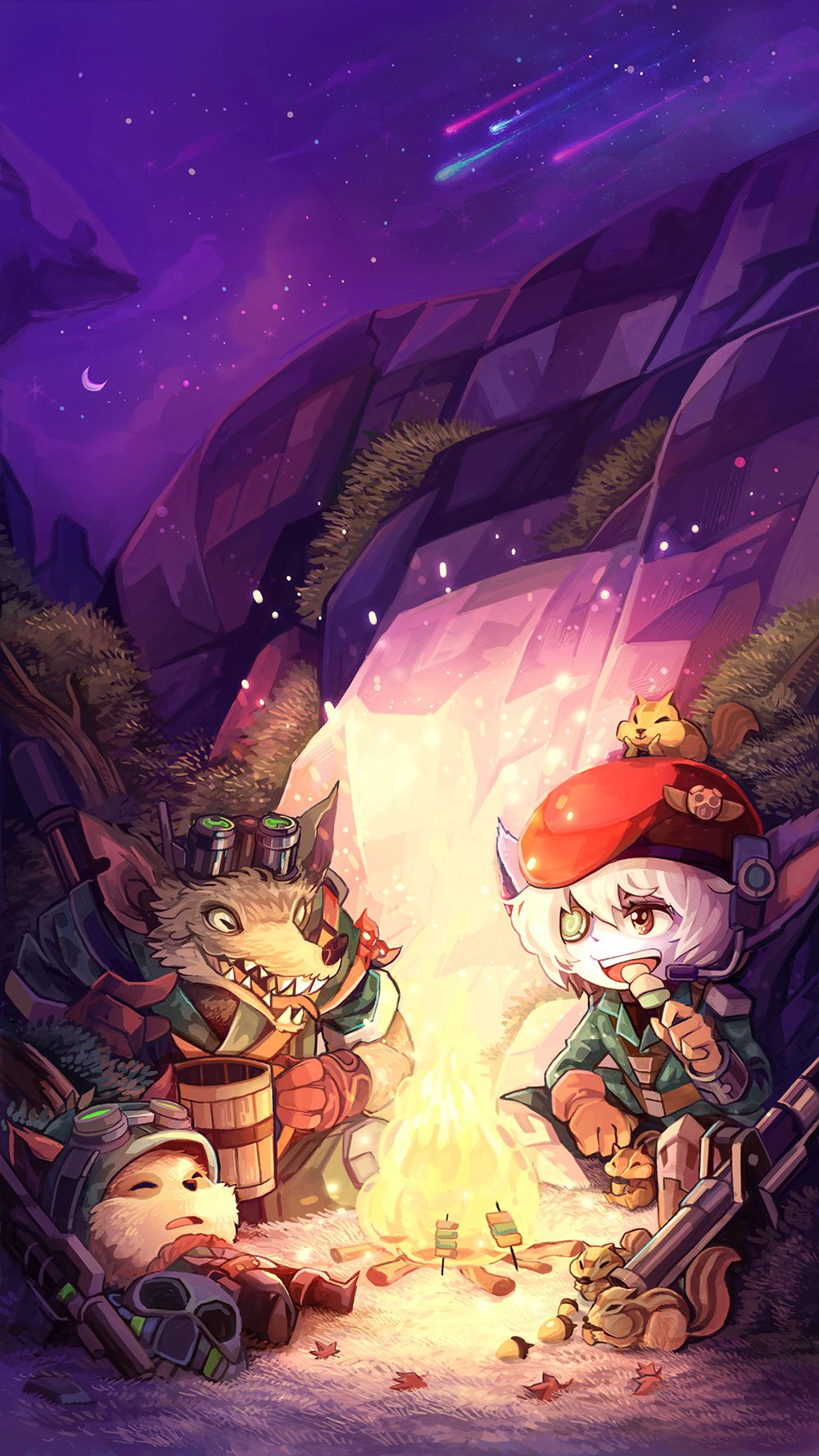 Download Cute Phone Wallpapers From The Korean League Mobile Store The Rift Herald