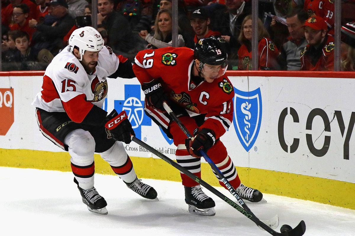 Ottawa Senators v Chicago Blackhawks