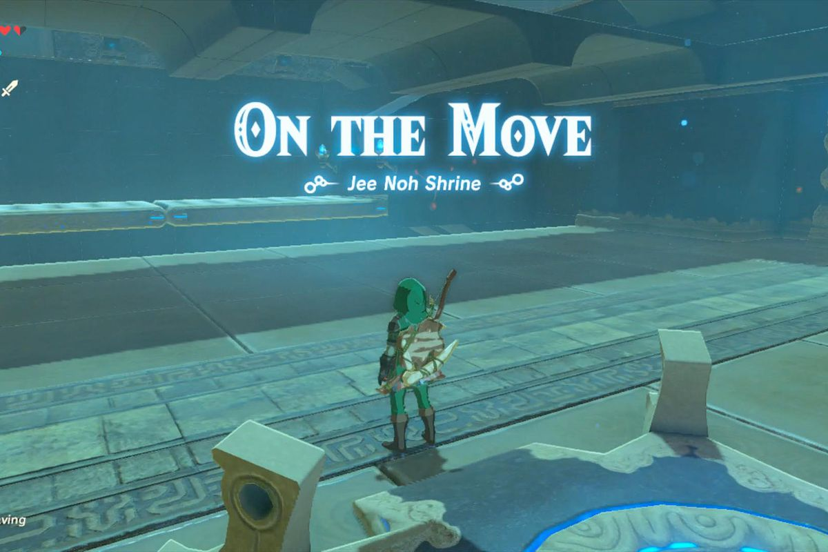 Zelda Breath of the Wild guide: Jee Noh shrine walkthrough