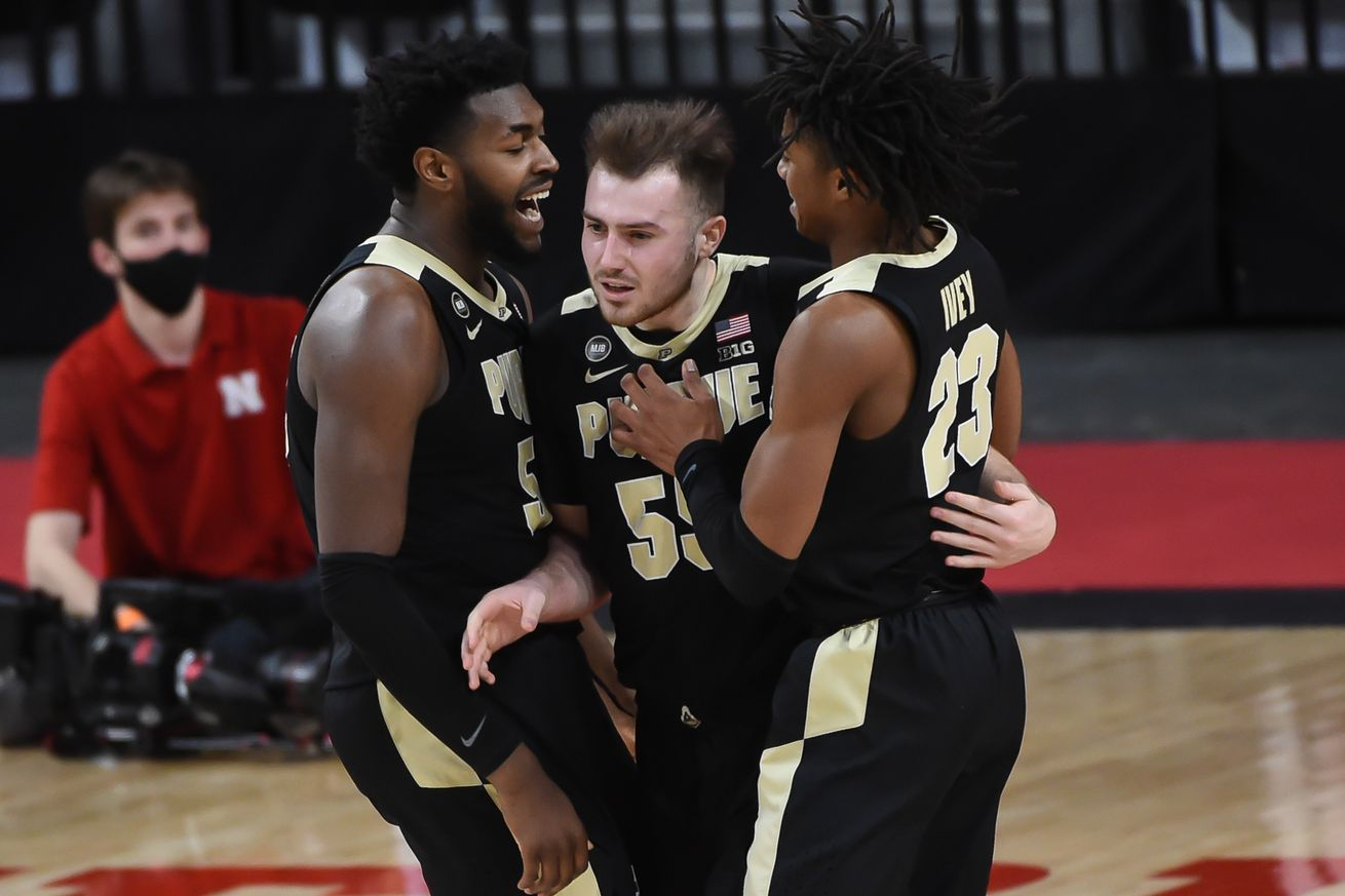 NCAA Basketball: Purdue at Nebraska