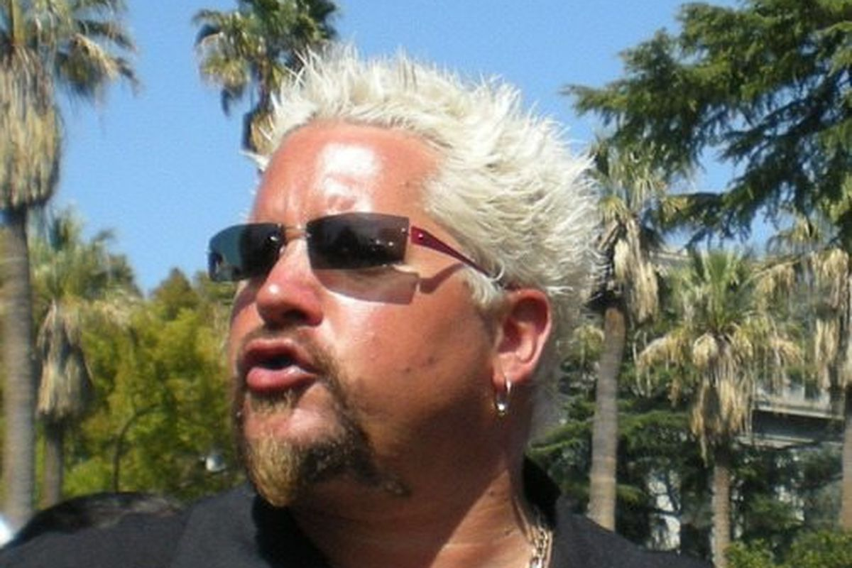 Guy Fieri, the patron saint of douche, approves of this list