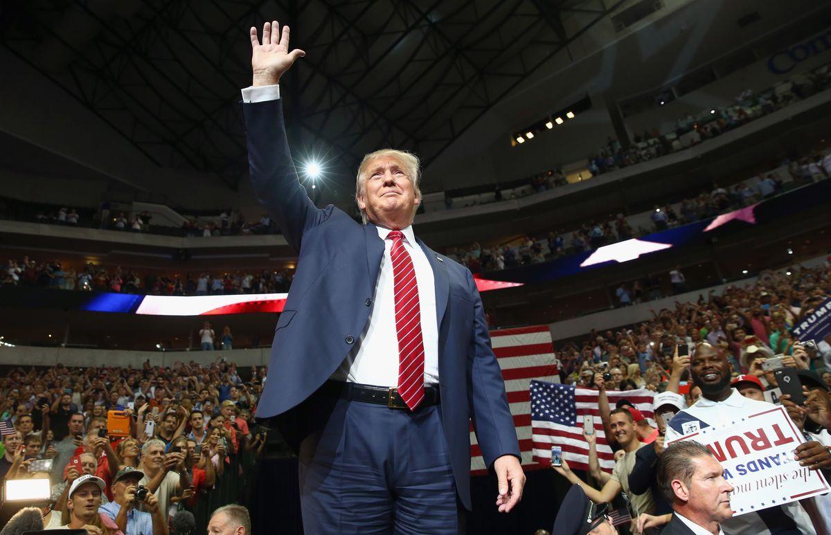 Donald Trump dallas rally