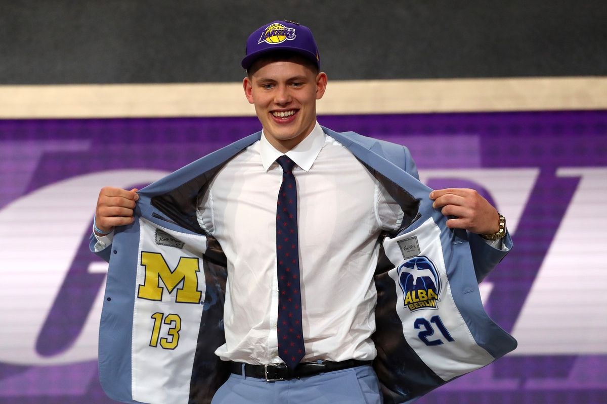 2018 NBA Draft Grades  How did the Lakers do in picking Moritz Wagner afc309aad