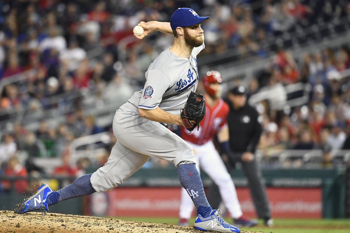 MLB: Game Two-Los Angeles Dodgers at Washington Nationals