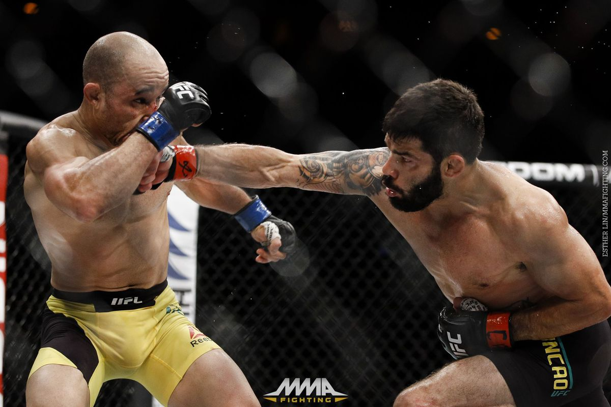 Raphael Assuncao spoils debut of Marlon Moraes on UFC 212 prelims