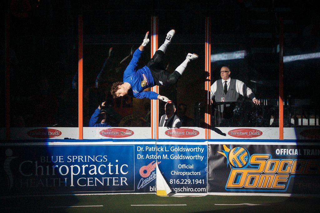 Danny Waltman loves doing backflips