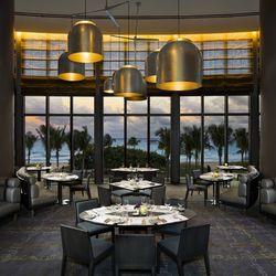 J&G Grill at the St. Regis Bal Harbour is luxury dining at its finest from its cuisine and design to the scenic views of the ocean.