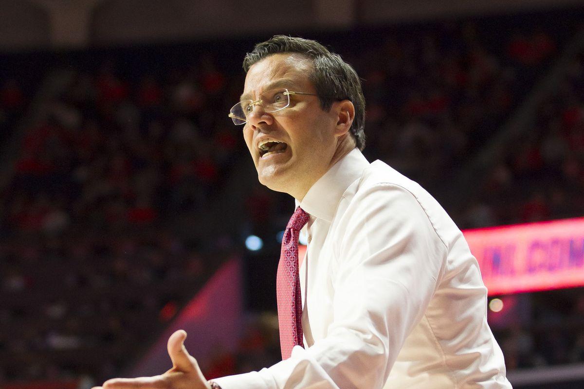 NCAA Basketball: Nebraska at Illinois