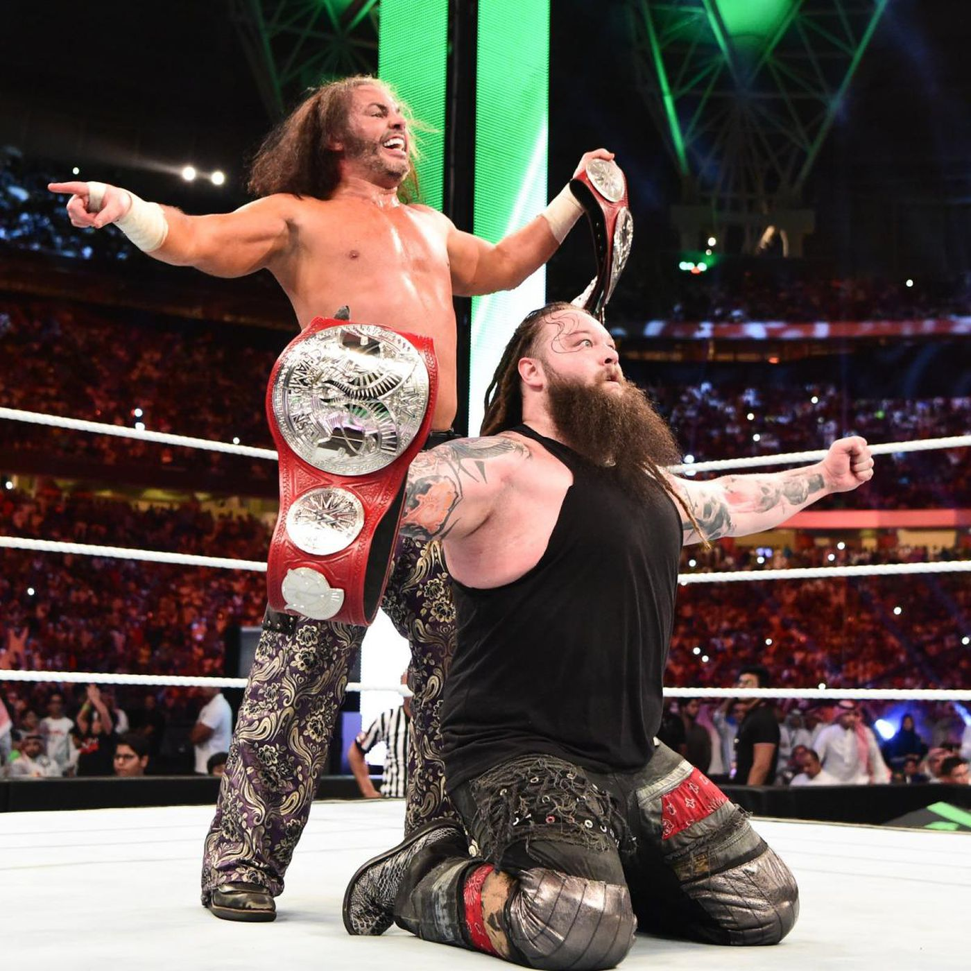 What tag team titles? - Cageside Seats