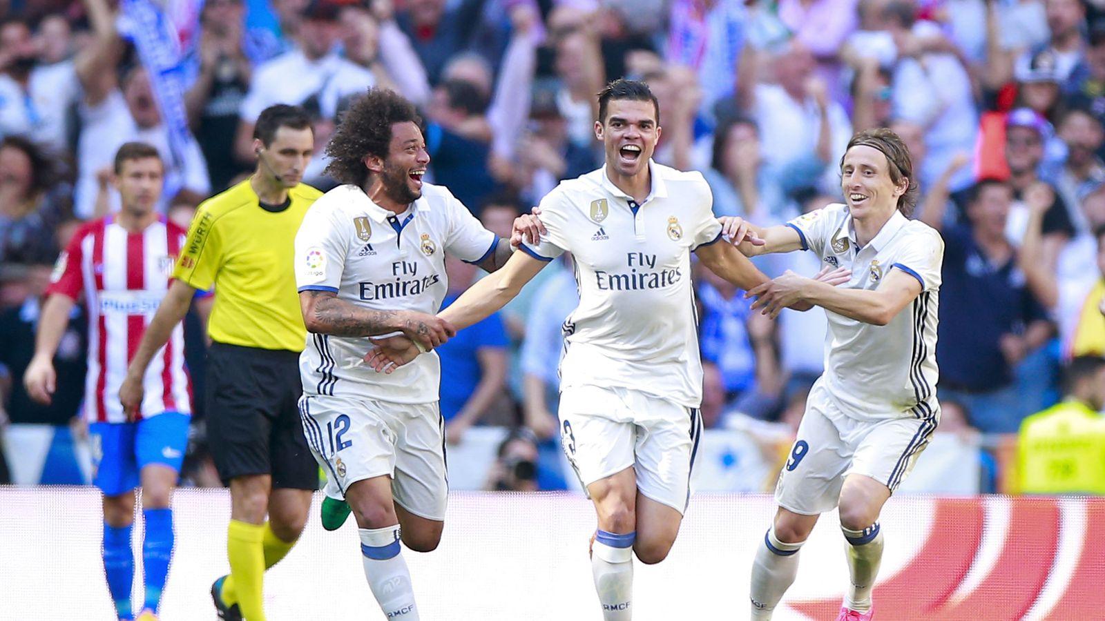 Managing Madrid A Real Madrid Community: Real Madrid 1-1 Atlético Madrid, 2017 La Liga: Player