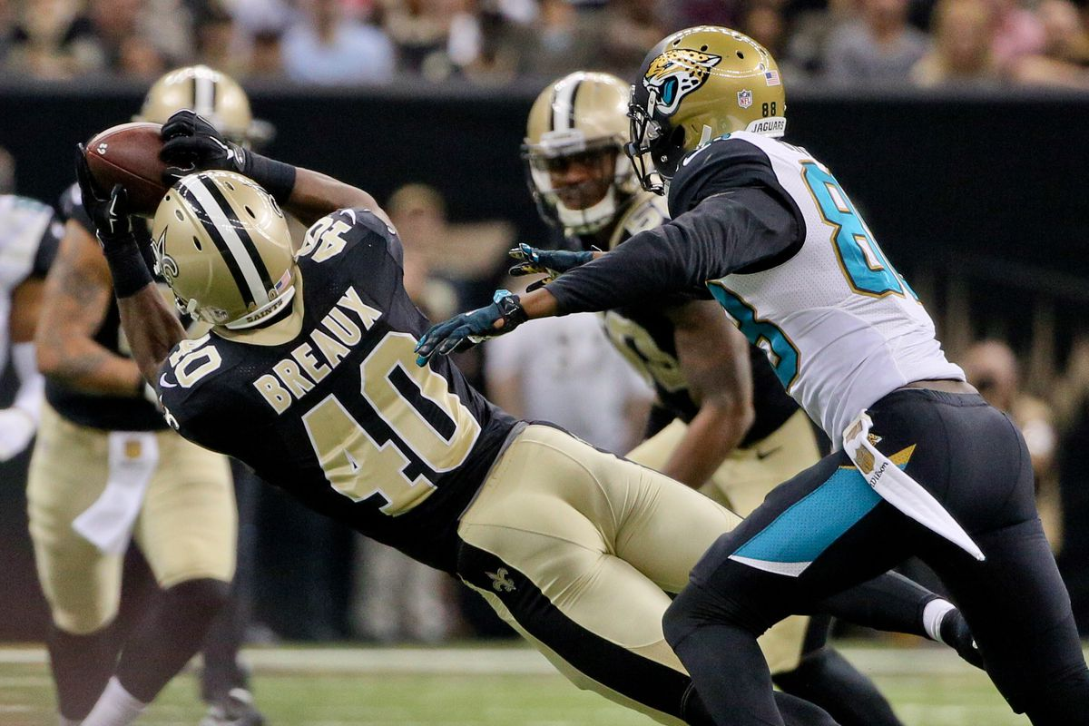 Saints News 3 16 16 Delvin Breaux Leads Saints in Performance