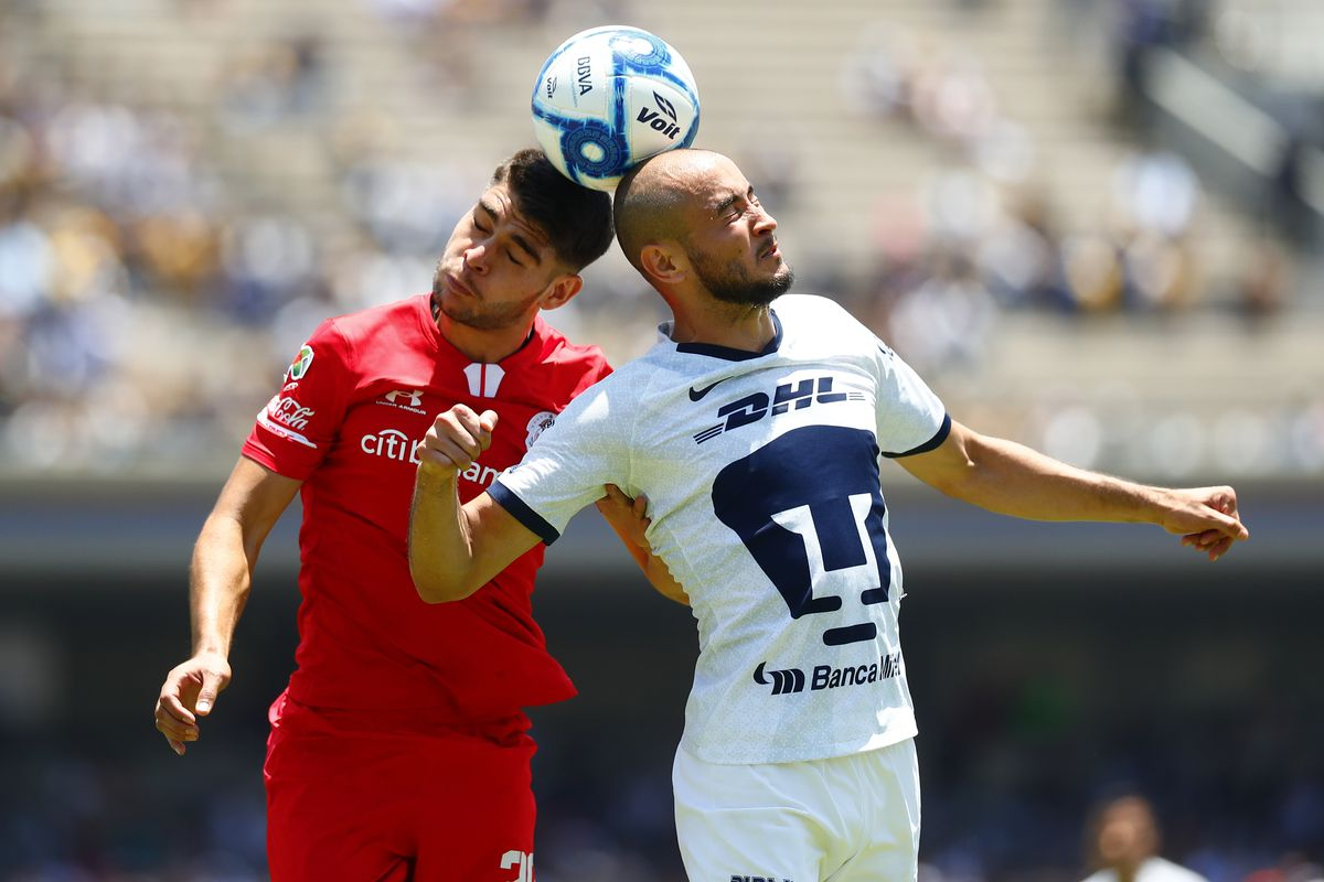 Pumas UNAM v Toluca - Torneo Apertura 2019 Liga MX