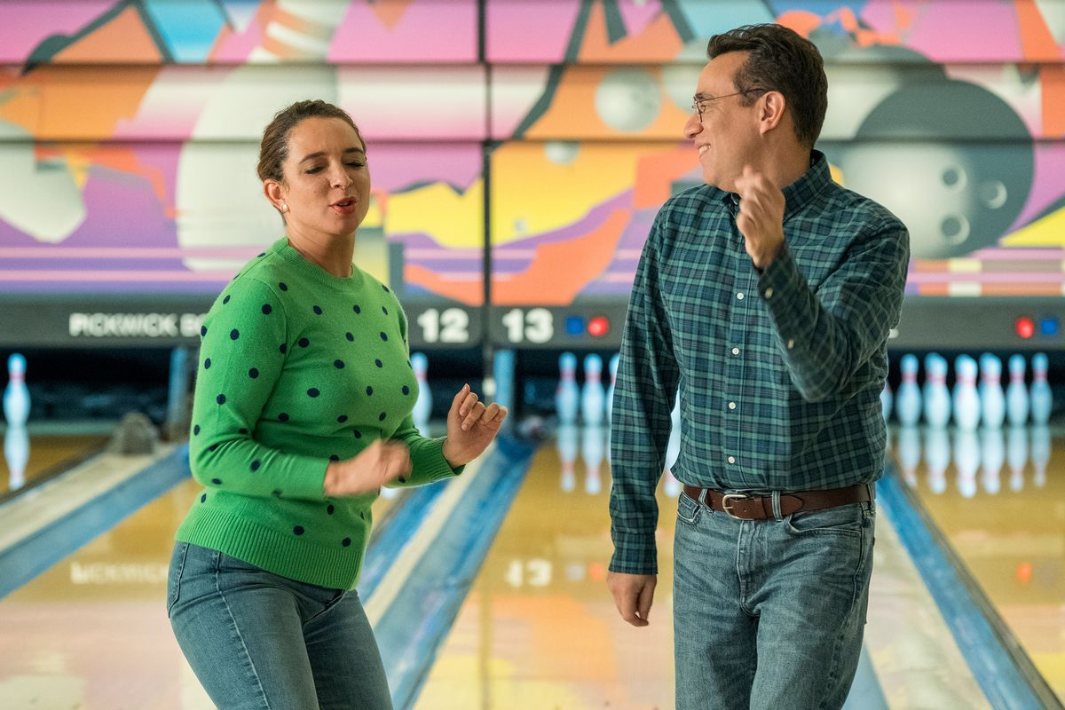 Forever - June and Oscar dancing at a bowling alley