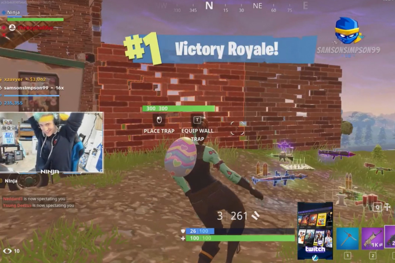 ninja is once again streaming fortnite with drake