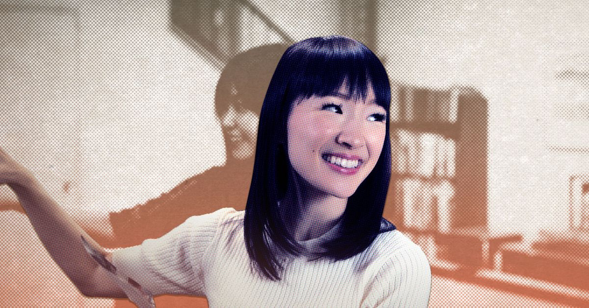 the unexpected joy of tidying up with marie kondo the ringer. Black Bedroom Furniture Sets. Home Design Ideas