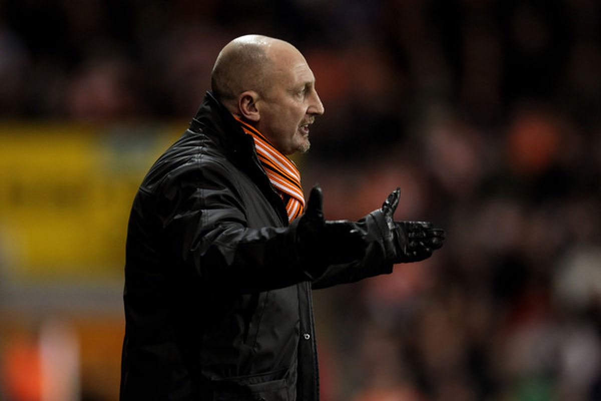Oh stop you whining, Ian Holloway. (Photo by Alex Livesey/Getty Images)