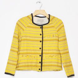 """<strong>Ace & Jig</strong> Cardi, <a href=""""http://www.conifershop.com/shop/ace-jig-cardi"""">$158</a> (was $227) at Conifer"""