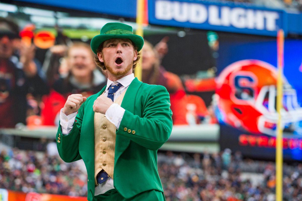 NCAA Football: Notre Dame vs Syracuse