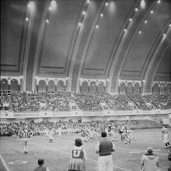 Utah and West Virginia play in the 1964 Liberty Bowl.