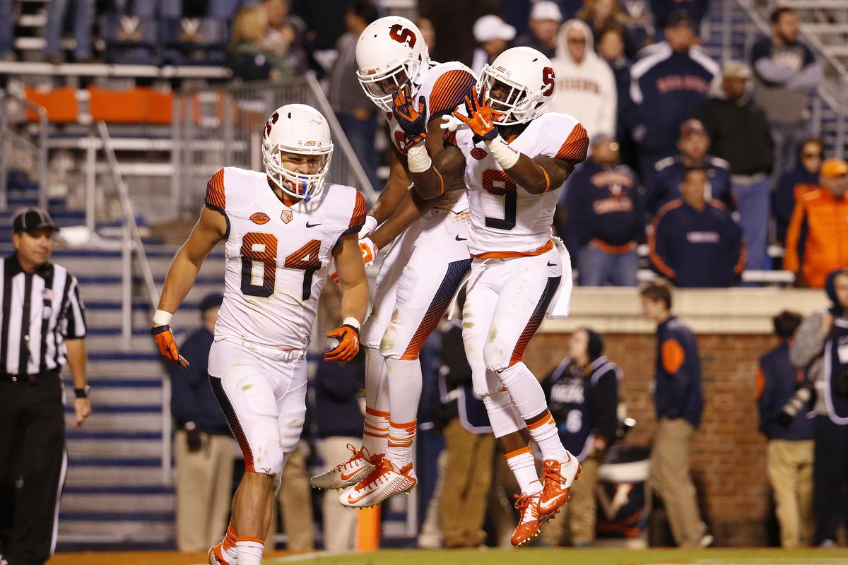 NCAA Football: Syracuse at Virginia