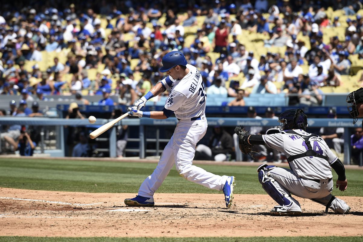 cody bellinger hits two home runs as dodgers storm back to win 12 6