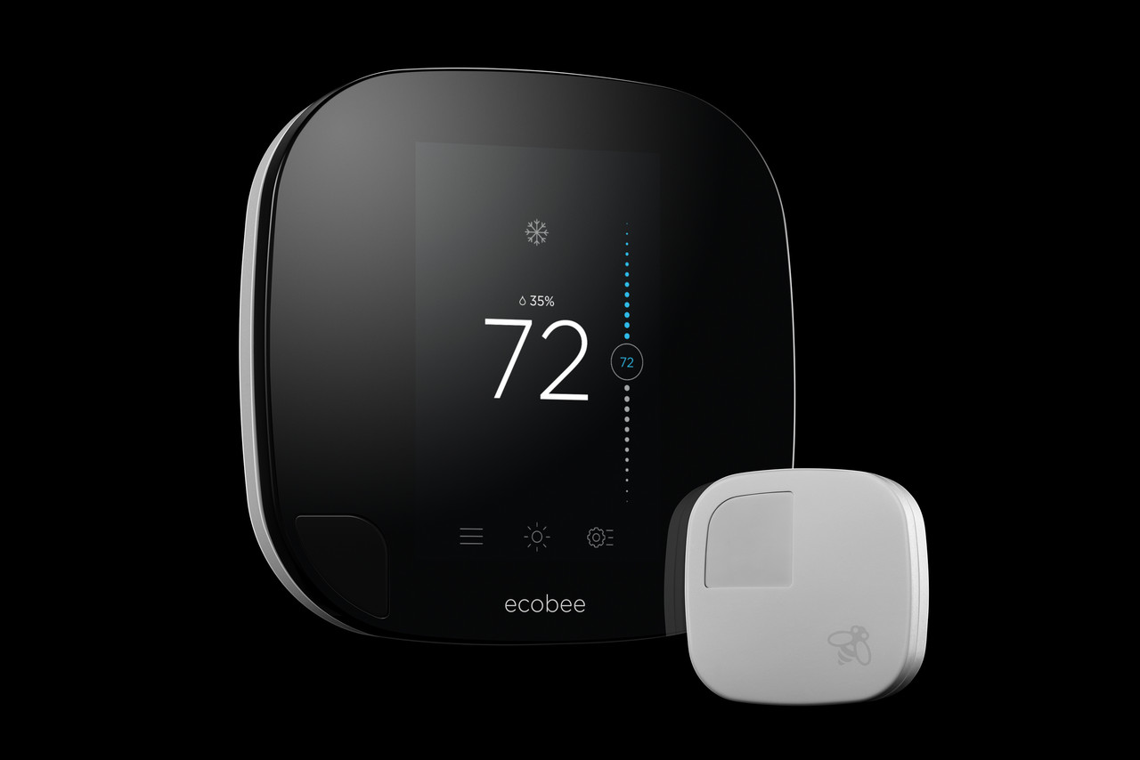 Smart Thermostat Maker Ecobee Pokes Nest With A Striking Redesign To Put In New Programmable But I Don39t Have Enough Wires And The Promise Of Lower Heating Cooling Bills
