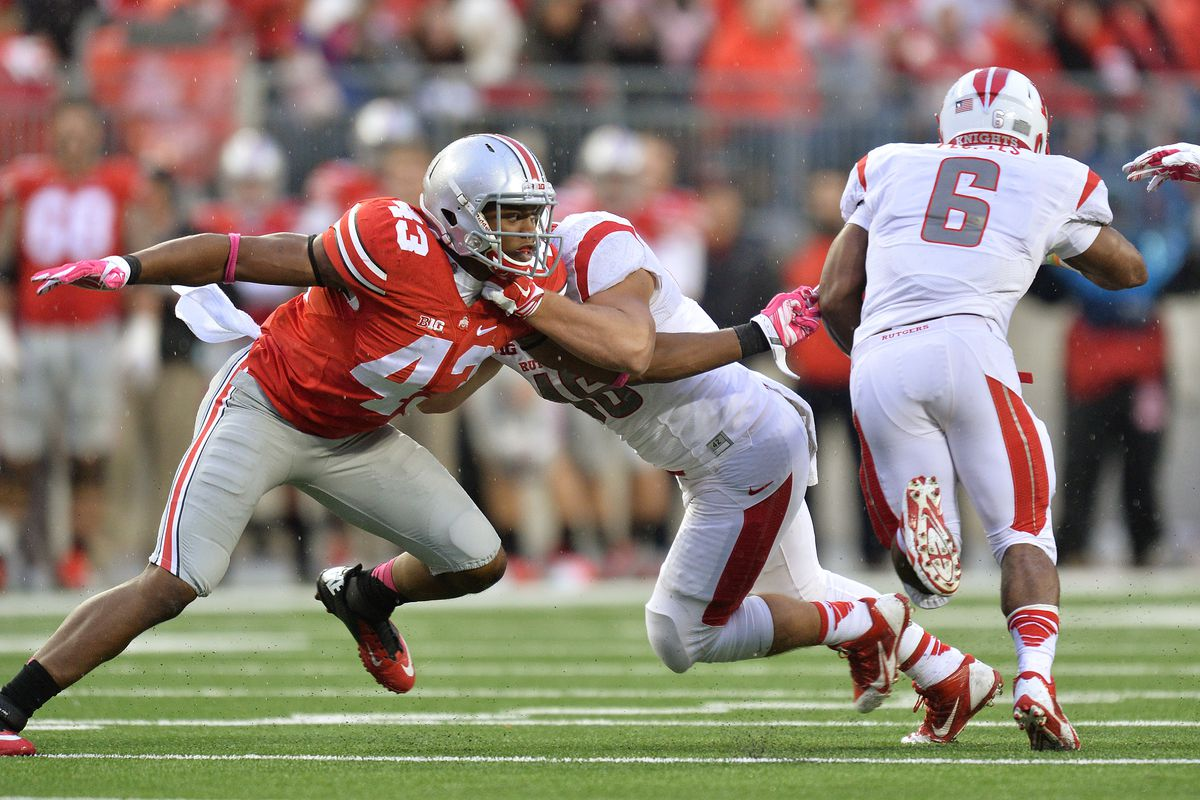 Darron Lee is one of a number of Buckeyes who has greatly benefited from a freshman year redshirt
