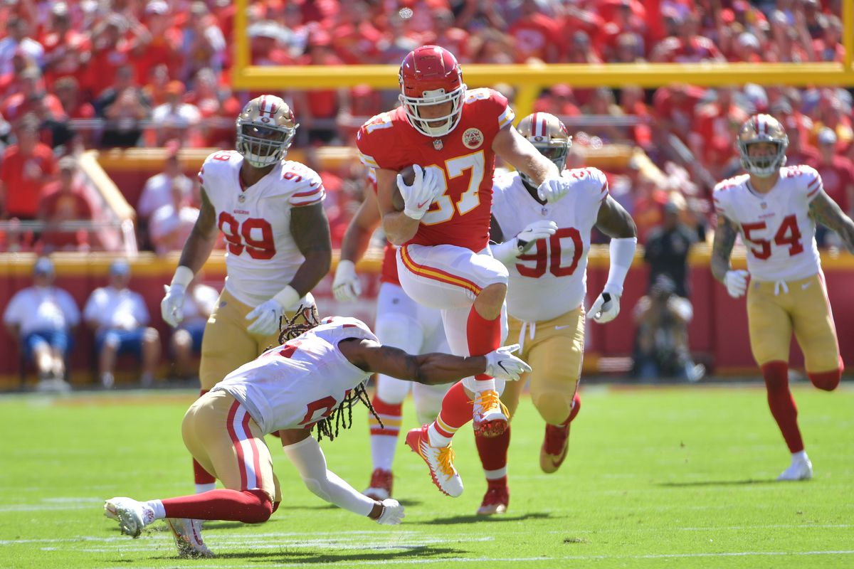 Five things to watch as the Chiefs play the 49ers