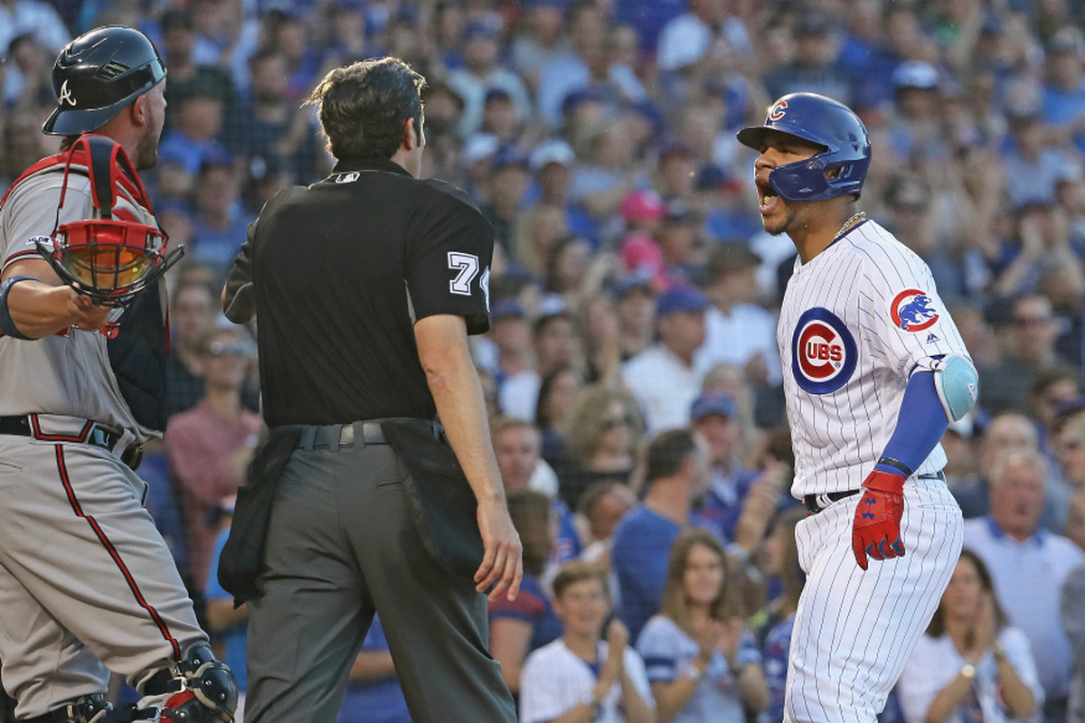 As Willson Contreras showed vs. Braves, baseball etiquette is still a hot-button issue