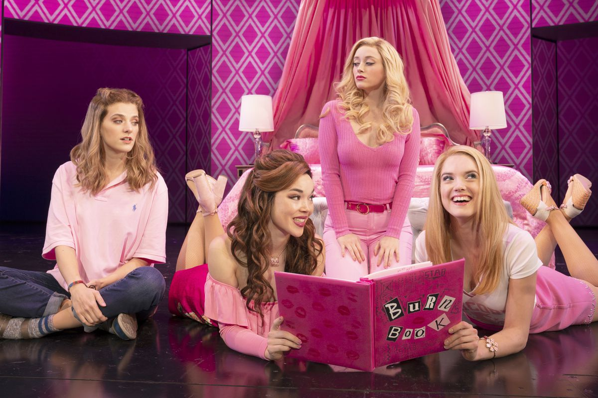 Mean Girls Musical Loses Much Of The Joy Soul Of Its Film Counterpart Chicago Sun Times Lacey chabert as gretchen wieners, a member of the plastics who only wants regina's acceptance. mean girls musical loses much of the