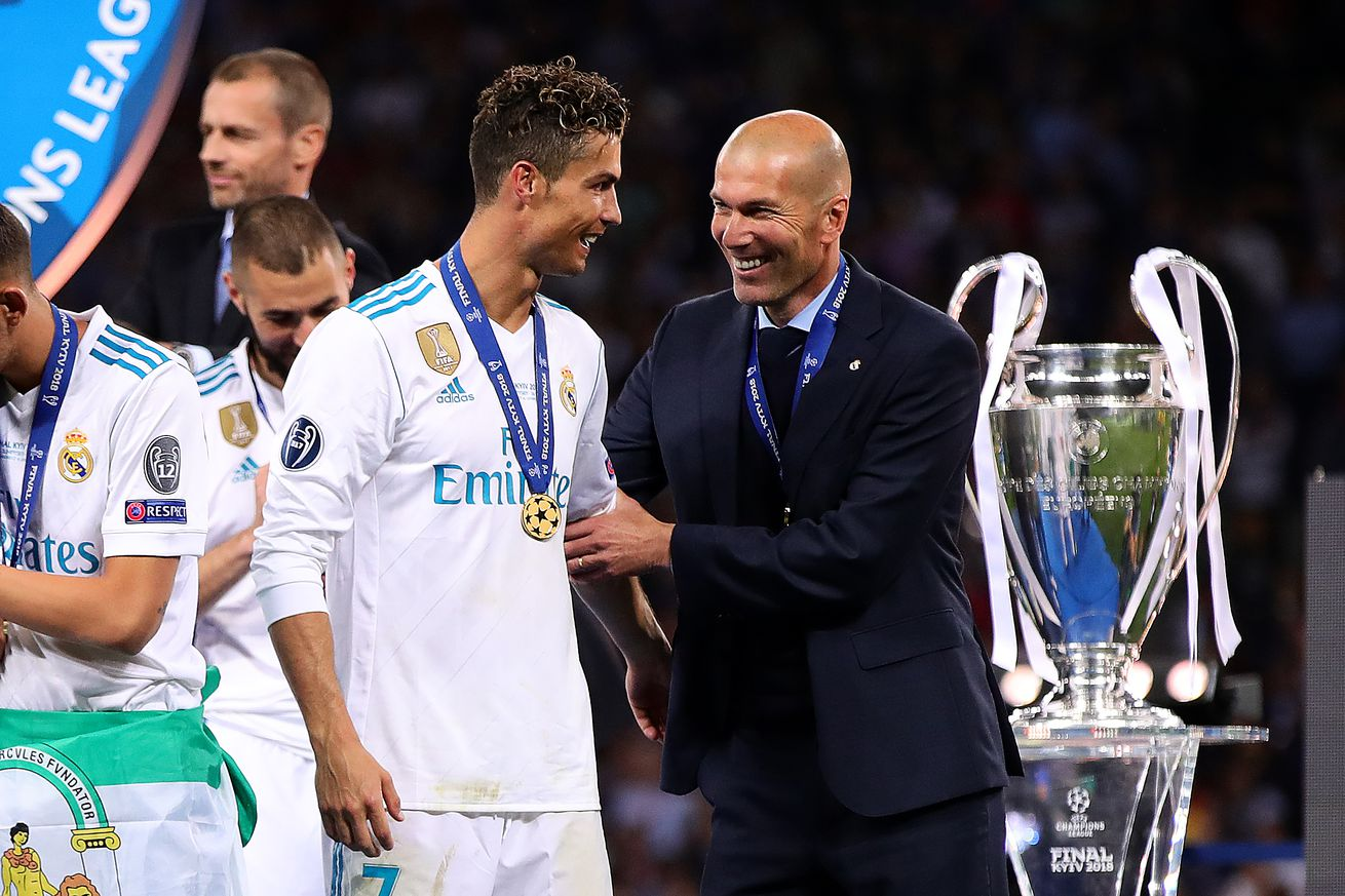 Cristiano Ronaldo: ?Zidane helped me a lot, I admire him and how he leads a team?