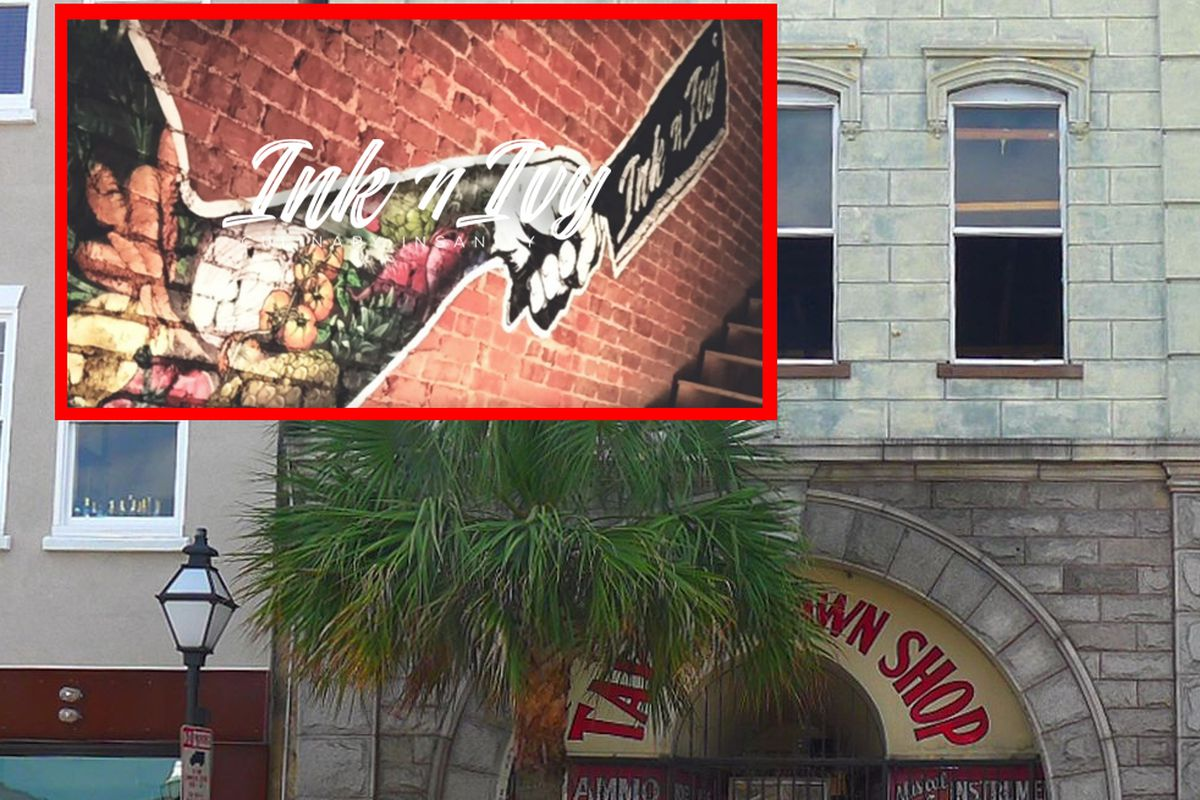 Ink & Ivy to open in the former Taylor's Pawn Shop space.