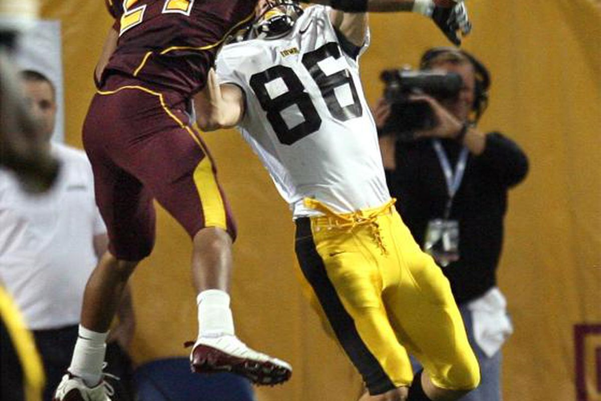 The highlight of the Iowa game.