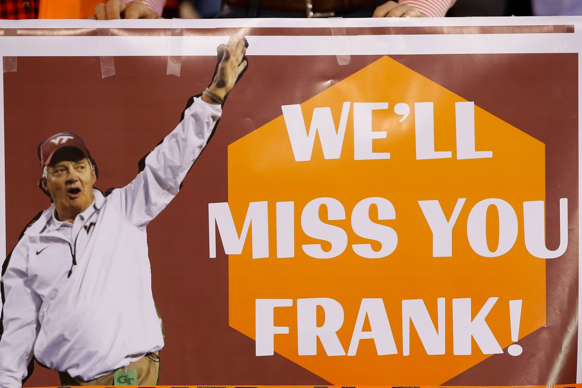 The Last Game at Lane Stadium for Coach Beamer