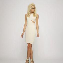 Westville Dress in Bone, $202