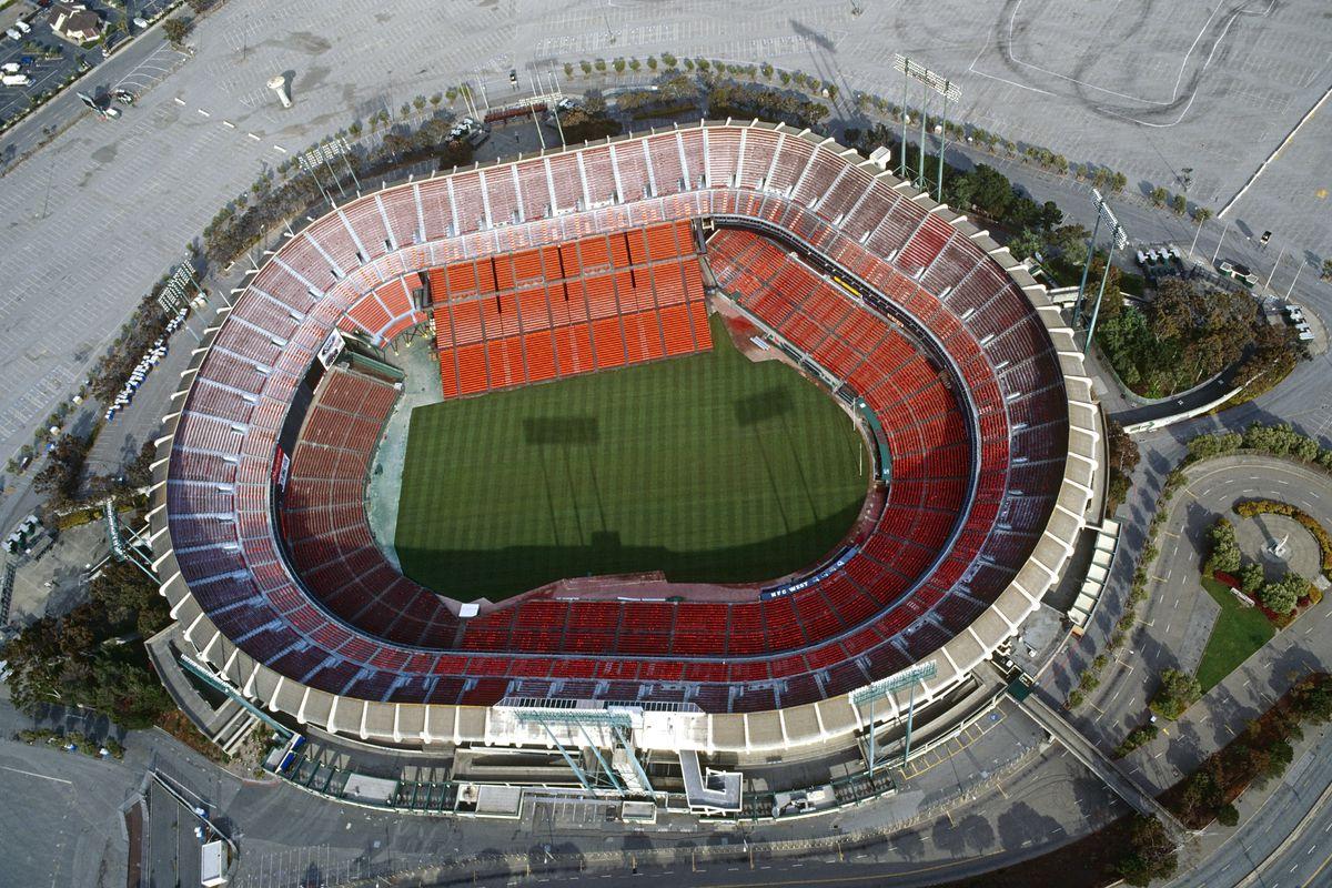 Candlestick Park Stadium, San Francisco, California, North America