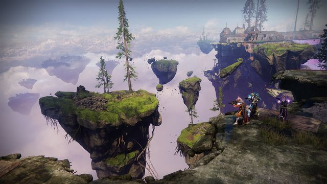 Image of European Aerial Zone for Solstice of Heroes 2019 in Destiny 2