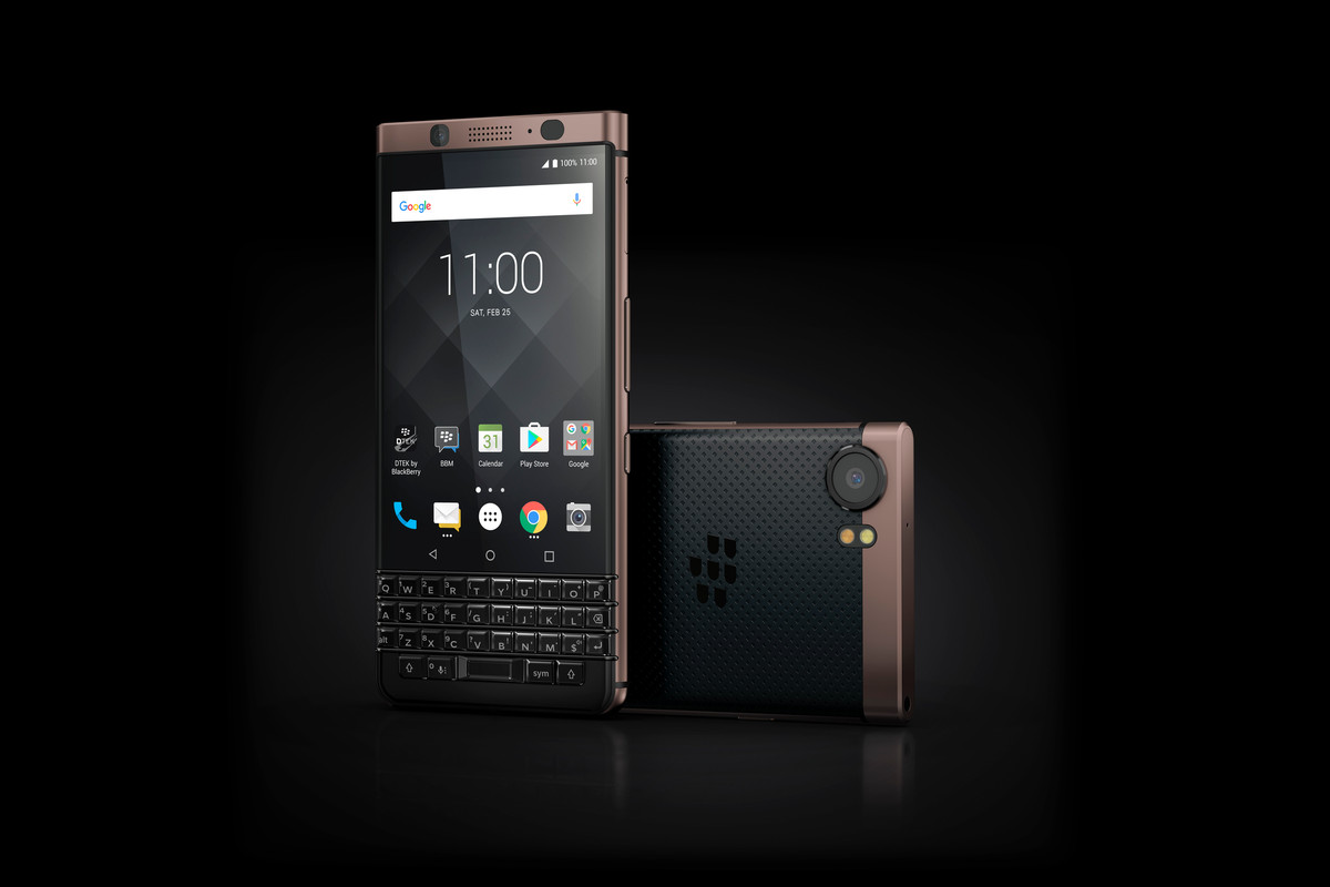 TCL's BlackBerry KeyOne Bronze Edition is more than a change in colour